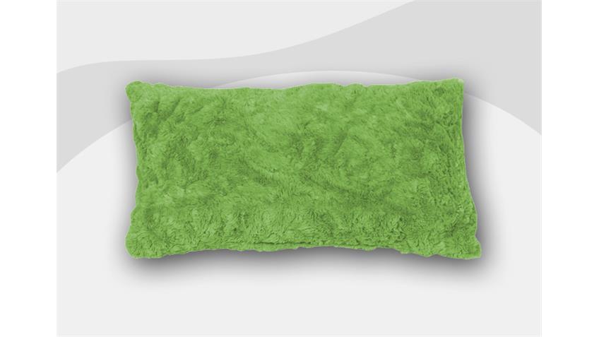 Armlehnkissen VANESSA Zierkissen Kissen in grün 40x60 cm