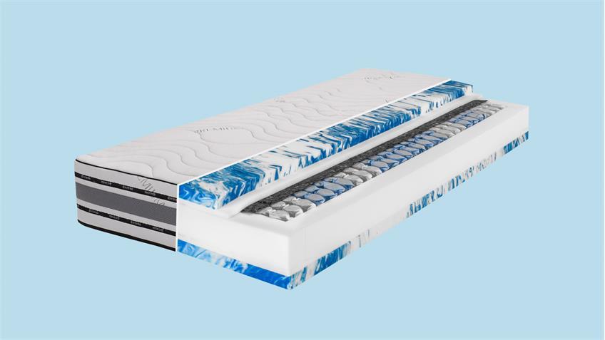 Gel-Schaum Taschenfederkern Matratze DORMISPRING T620 90x200