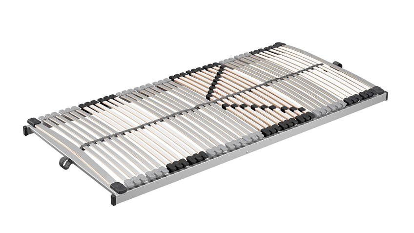 Lattenrost L 4050 NV CLASSIC 90x200 silber weiß 6 Zonen