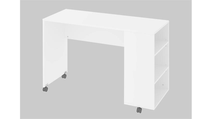 Schreibtisch FUNCTION PLUS 80114 Computertisch in weiß