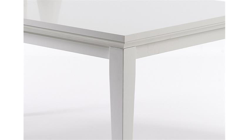 Esstisch PARIS Tisch Esszimmer in weiß Dekor 180x95 cm