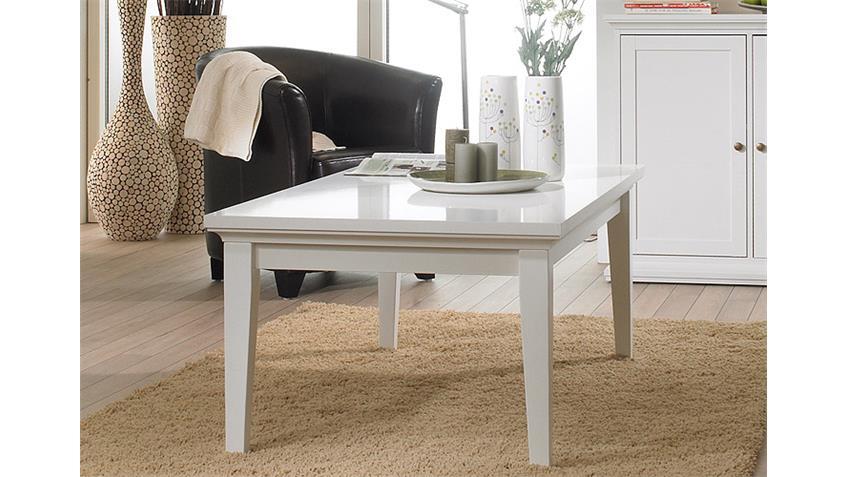Couchtisch PARIS Tisch in weiß Dekor Wohnmöbel Landhausstil