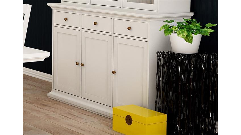 Kinderzimmer Ikea Einrichten ~ Vitrinenschrank Weiß  Vitrinenschrank PARIS Vitrine Buffet in weiß