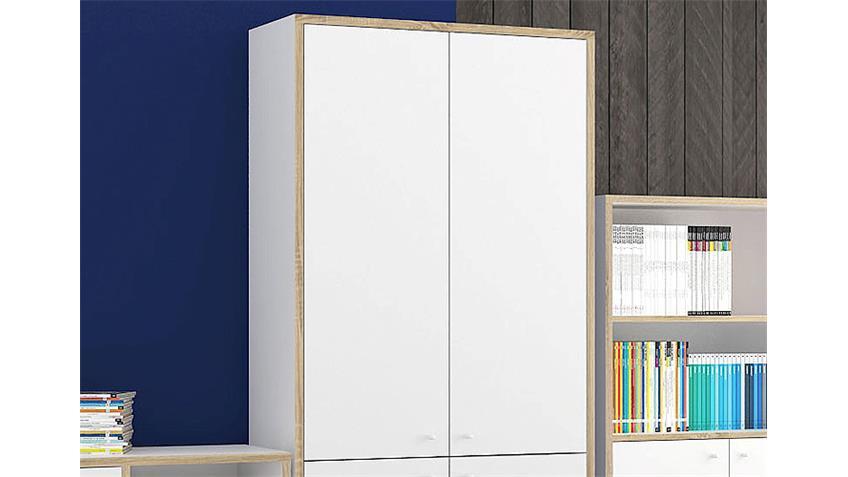 Türen TORONTO 2er Set in weiß für Aktenregal