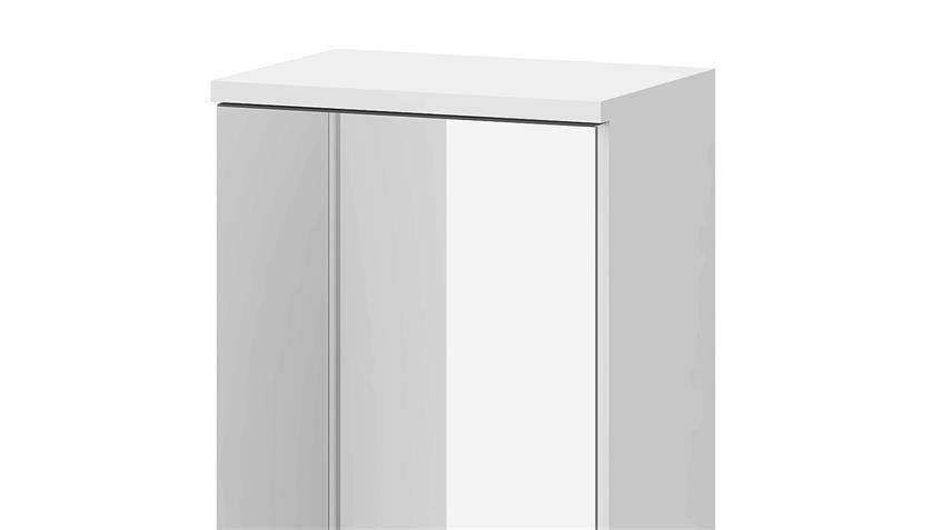 Spiegelschrank 1 LAKE Hängeschrank in weiß