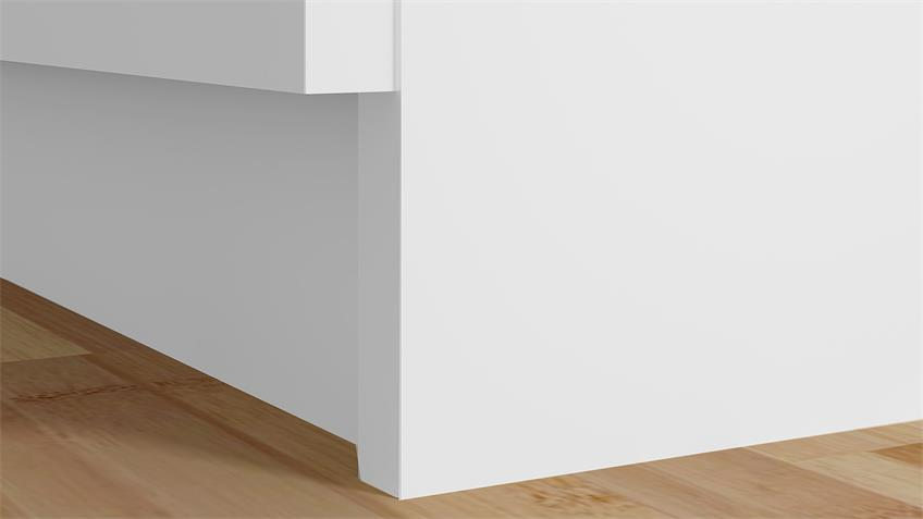 Sideboard NAIA Anrichte in weiß mit 6 Schubkästen