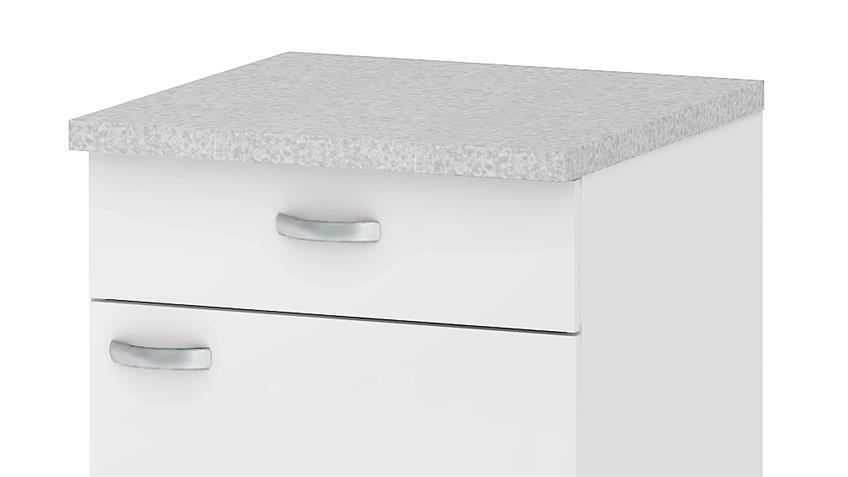 Schrank CASSY Küchenschrank 45520 in weiß Küche