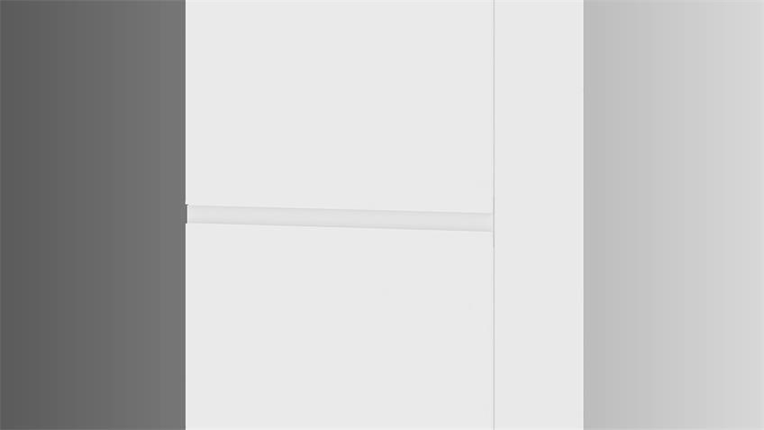 Geschirrschrank IKUU 83412 Hochschrank weiß Küche