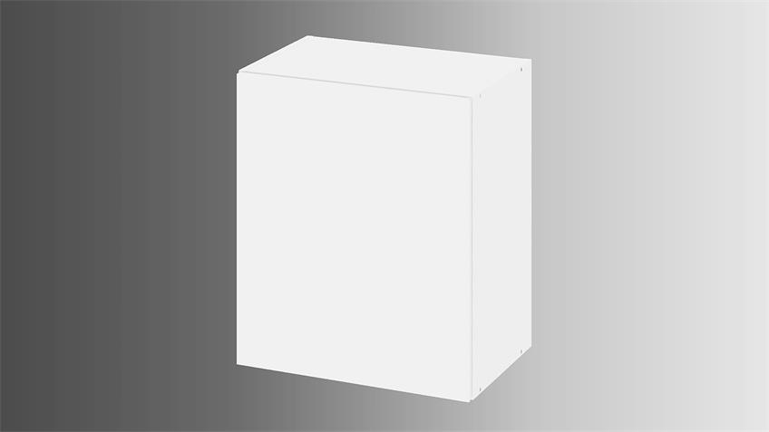 Hängeschrank IKUU 83416 Oberschrank in weiß Küche