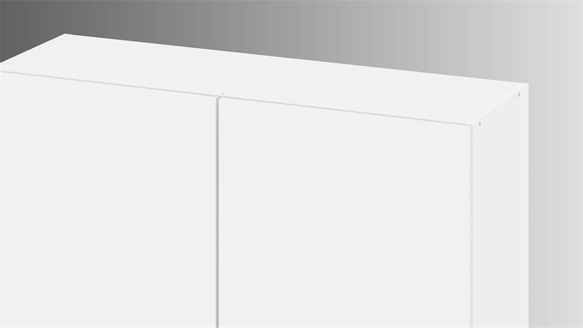 Hängeschrank IKUU 83422 Oberschrank in weiß Küche