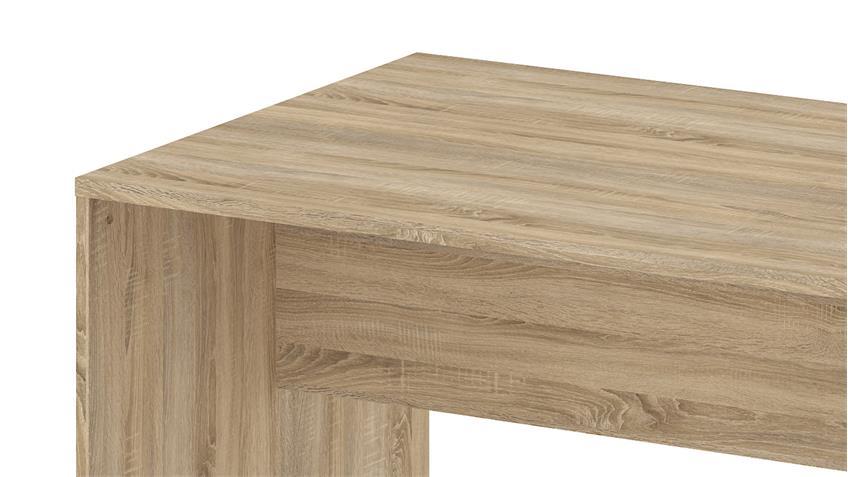 Schreibtisch KINECT Bürotisch in Eiche Struktur 120x80 cm
