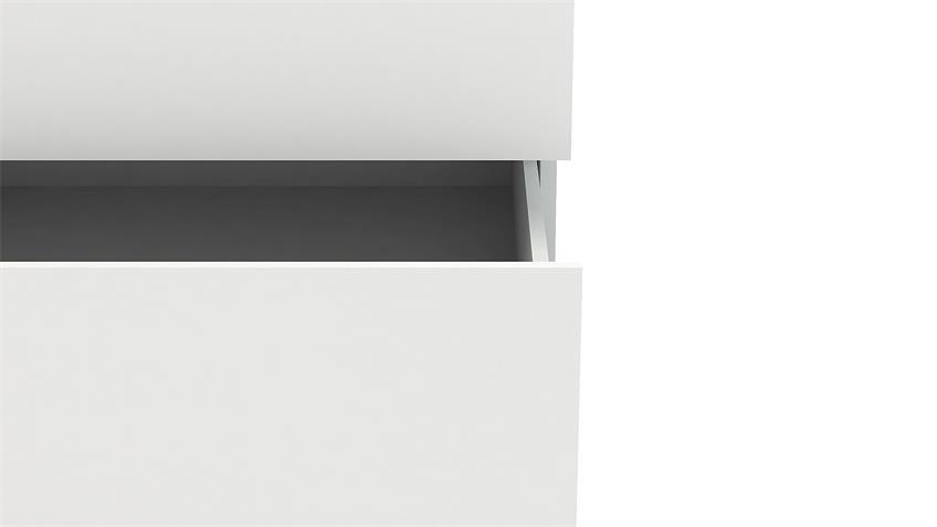 Sideboard NOWA Anrichte in weiß mit 6 Schubkästen