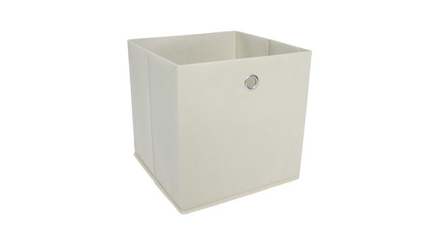 Faltbox KUBUS 1 Regalkorb in natur für Raumteiler