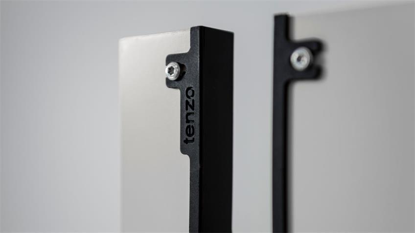 Kommode UNO Sideboard weiß lackiert von Tenzo 76x89 cm