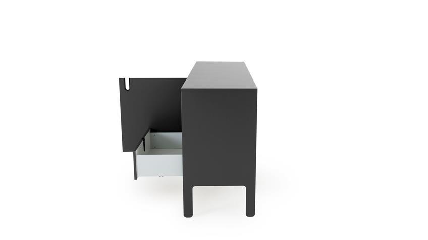 Sideboard UNO Anrichte grau lackiert von Tenzo 171x86 cm