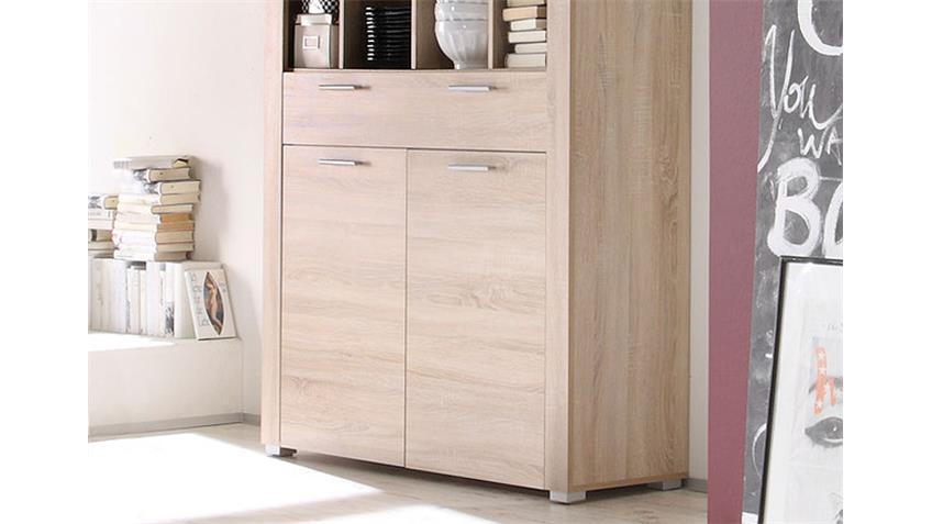 sonoma eiche schrank interessante ideen f r. Black Bedroom Furniture Sets. Home Design Ideas