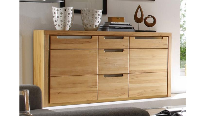 sideboard zino kern buche massiv lamellen. Black Bedroom Furniture Sets. Home Design Ideas