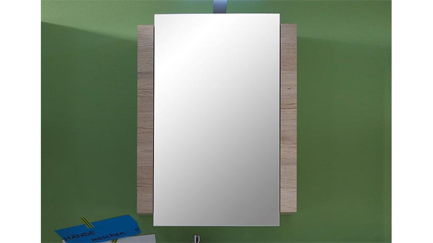 Spiegelschrank CAMPUS Badschrank in San Remo Eiche hell