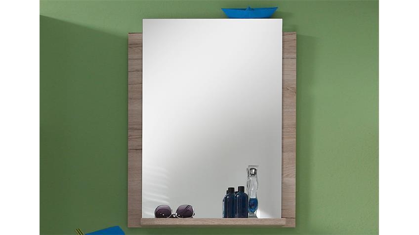 Wandspiegel CAMPUS Spiegelschrank in San Remo Eiche