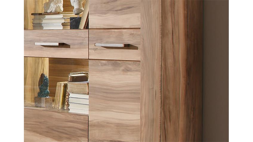 highboard 1 montreal schrank vitrine in nussbaum satin. Black Bedroom Furniture Sets. Home Design Ideas