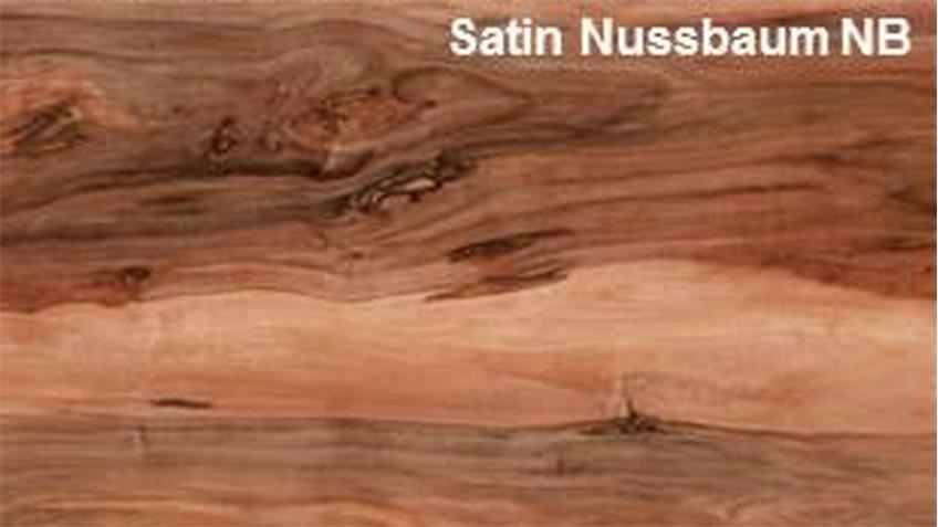 Couchtisch UNIVERSAL Beistelltisch in Satin Nussbaum