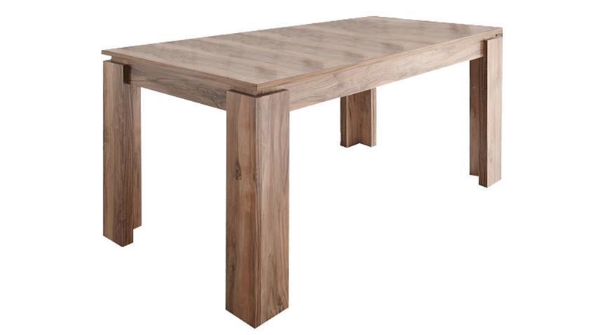 yarial = nussbaum satin touchwood esstisch ~ interessante, Gestaltungsideen
