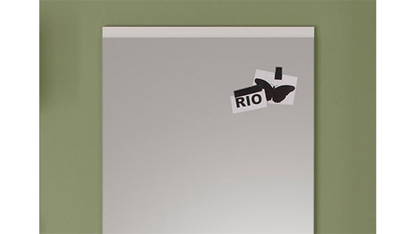 Garderobenspiegel DERBY Wandspiegel Garderobe in weiß