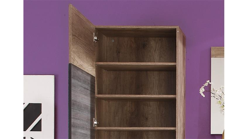 Garderobenschrank POLO Canyon Monument Oak Touchwood
