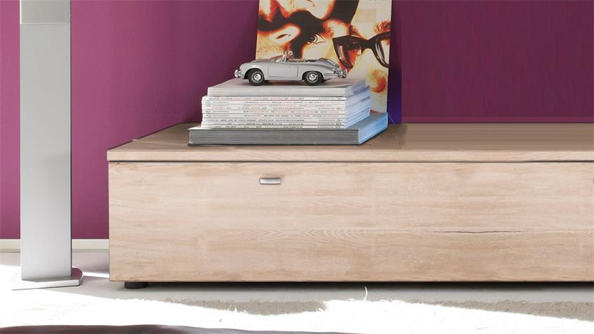 Lowboard Tetis San Remo Eiche Set mit 2 TV-Boards
