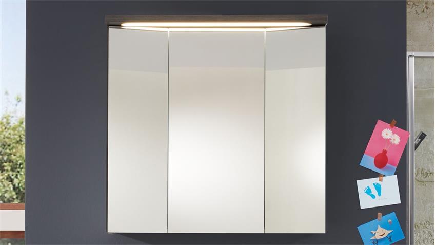 Spiegelschrank ADAMO 75x73 LED Schalter-Steckdosenbox