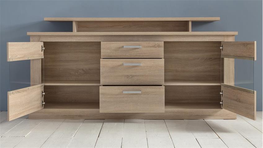 speisezimmer montreal wohnwand eiche s gerau hell esszimmer. Black Bedroom Furniture Sets. Home Design Ideas