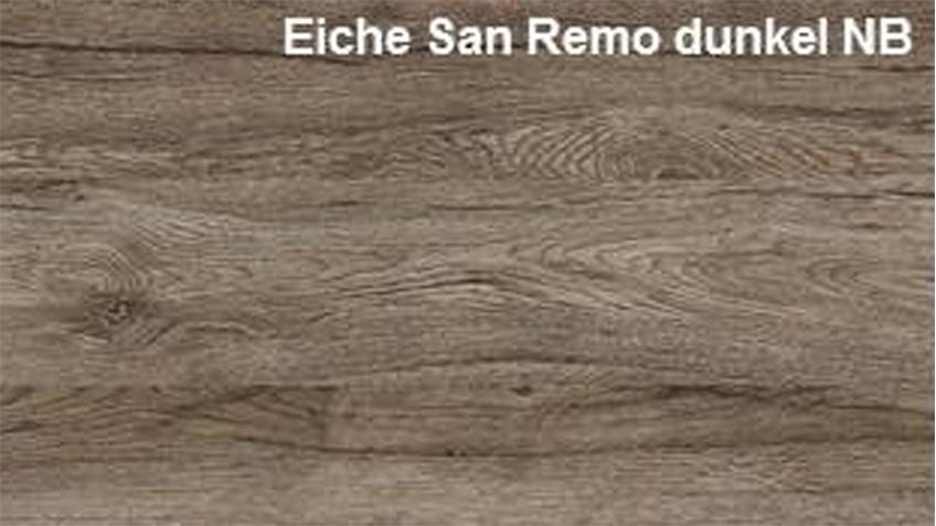 Couchtisch UNIVERSAL in Eiche San Remo dunkel mit Ablage