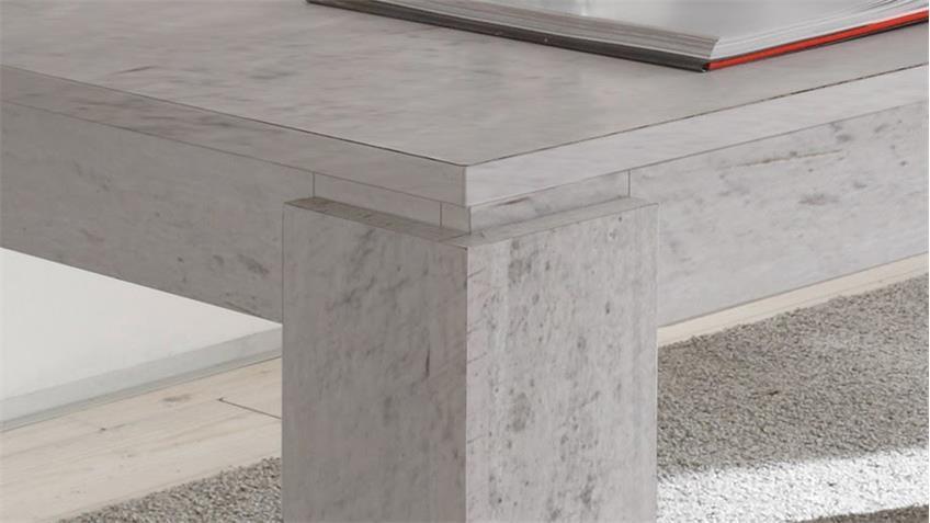 Esstisch UNIVERSAL in Beton Industry Tisch Ausziehtisch 160-200