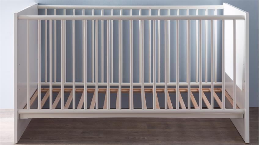 Babybett RONA Gitterbett in weiß