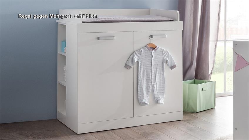 Wickelkommode RONA Wickeltisch in weiß