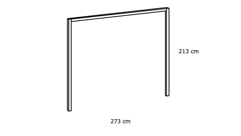 Passepartout SEATTLE Schlammeiche für Schrank 273 cm