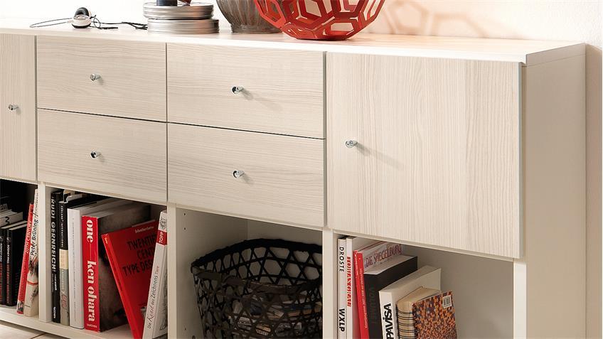 schreibtisch jugendwunder regal jugendzimmer esche und wei wellem bel. Black Bedroom Furniture Sets. Home Design Ideas