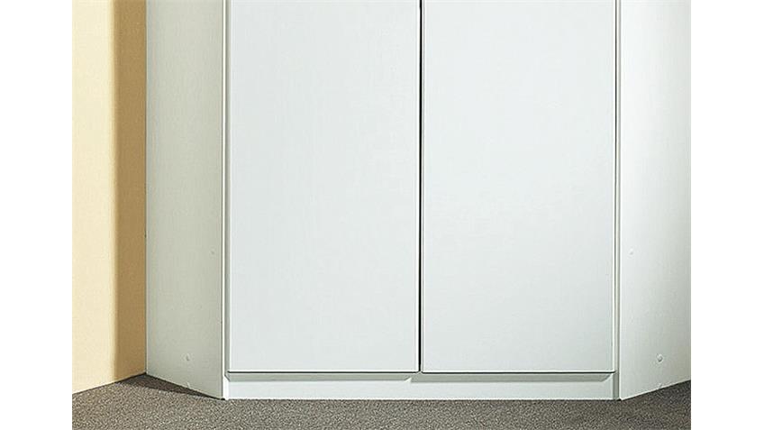 Eckschrank CLICK Schrank Kleiderschrank in weiß 120 cm