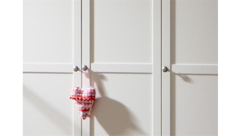 Kleiderschrank Filou Kinderzimmer Babyzimmerin Alpinweiß