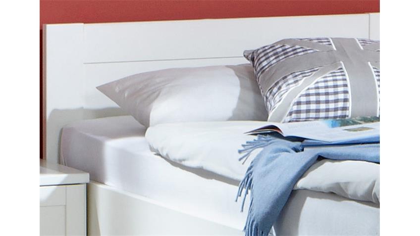 Bett Filou Kinderzimmer Kinderbett in Alpinweiß 90x200cm