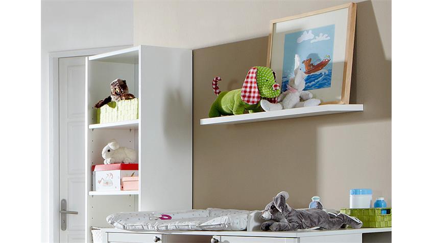 Babyzimmerset Filou 5 teilig Bett Schrank Kommode Alpinweiß