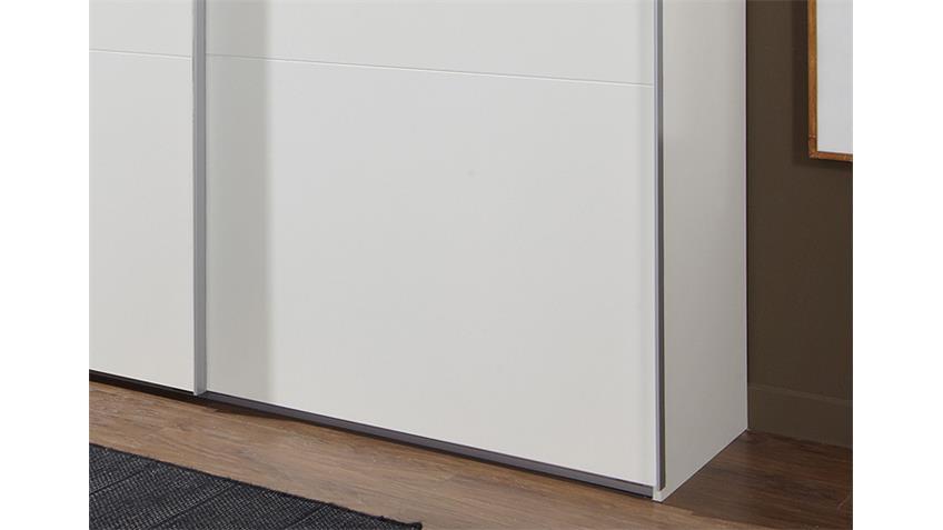 Schwebetürenschrank MATCH UP in weiß 313x236 cm