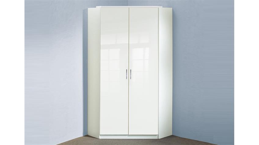 eckschrank clack in hochglanz wei alpinwei. Black Bedroom Furniture Sets. Home Design Ideas