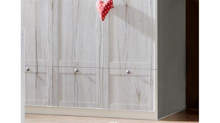 Kleiderschrank Filou Kinderzimmer Babyzimmerin Weißeicheß