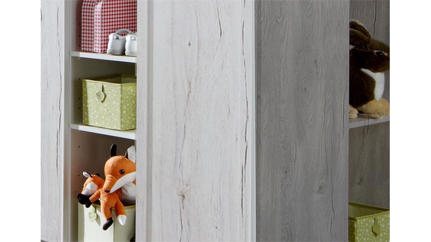 Wickelkommode Filou Wickeltisch Babyzimmer in Weißeiche