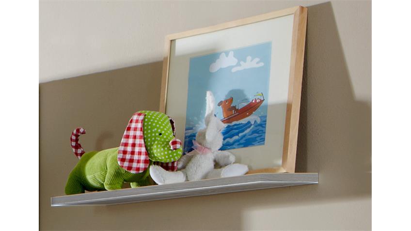 Wandboard 2 Filou Kinderzimmer Babyzimmer in Weißeiche
