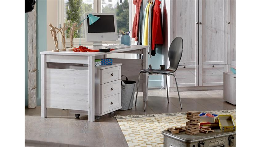 Schreibtisch Filou Computertisch Kinderzimmerin Weißeiche