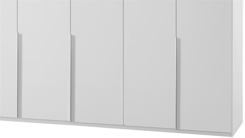 Kleiderschrank NEW YORK A in Alpinweiß 225 cm