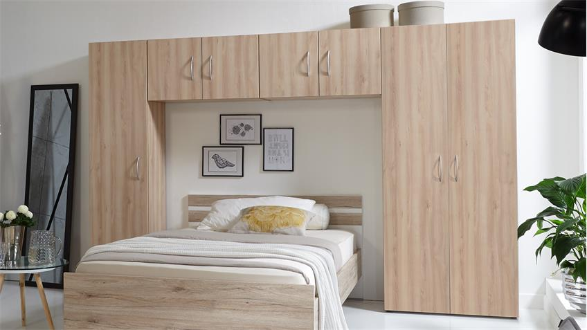 bett berbau mrk schlafzimmer berbauschrank in eiche s gerau. Black Bedroom Furniture Sets. Home Design Ideas