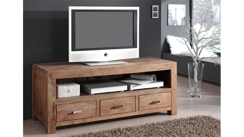 TV Board Longboard GURU 6618 Akazie massiv von Wolf Möbel